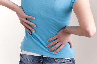 Crohn`s disease can cause back pain.