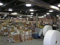 A pakhuis is tipies vol afval, in onverkoopte voorraad en onnodige hantering en beweging.