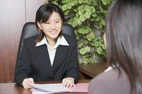 Dit`s good etiquette to follow up after the job interview.