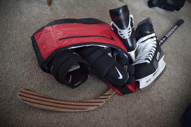 Hoe om Hokkie handskoene skoon