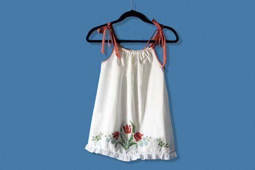 Hoe om te maak `n kussingsloop Style Dress