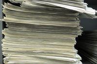 Pamflette kan duur raak as gevolg van papier.