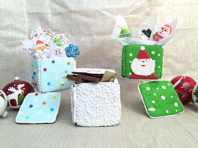 Hoe om eetbare peperkoek Gift Boxes