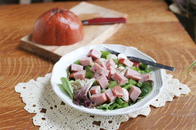 Hoe om te maak Ham slaai