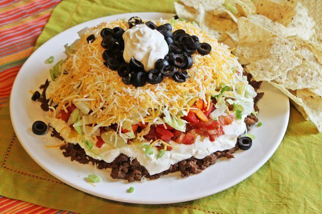 Hoe om te maak Sewe Layer Taco Dip