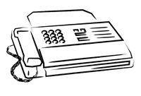 Die meeste faksmasjiene het `n back-up funksie om fakse te haal.