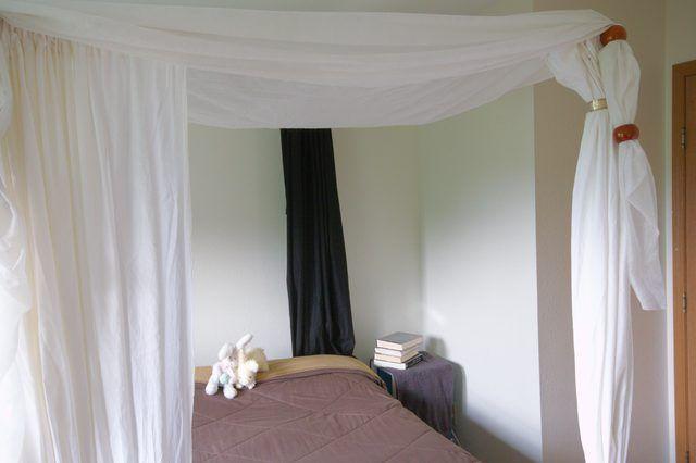Hoe om te gebruik PVC te maak Canopy Bed