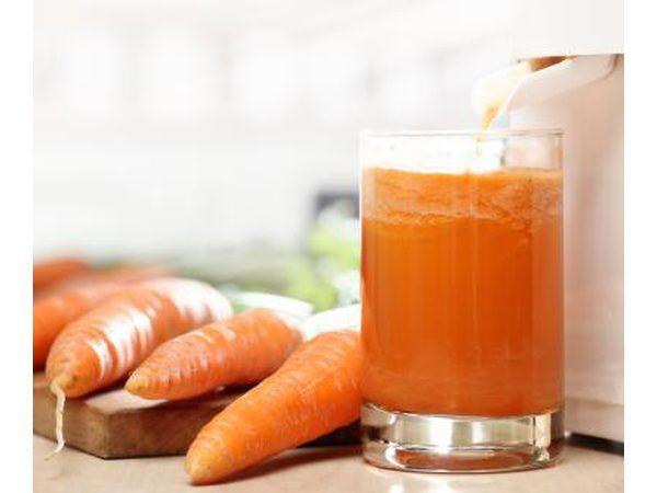 Wortel sap en wortels