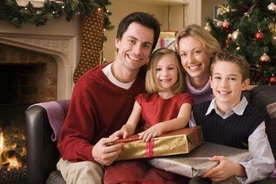 Oorspronklike idees Family Christmas Brief