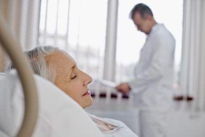 hospitaal pasiënt