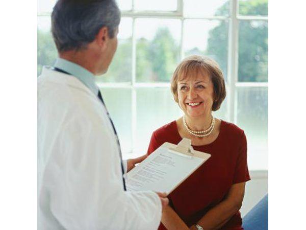 Dokter en pasiënt