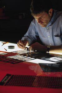 Grafiese ontwerpers kan gebruik fotografie om idees te kommunikeer.